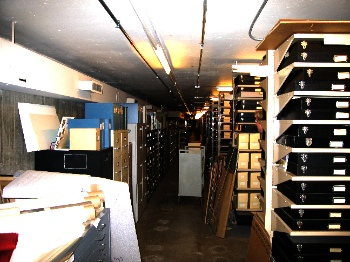 Boston Public Library storage area