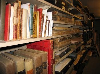 Boston Public Library Print Stack