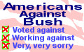 Americans against Bush