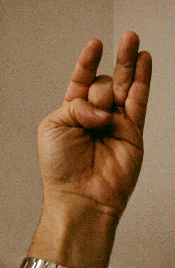 The antifinger gesture of forgiveness - www.evident.com