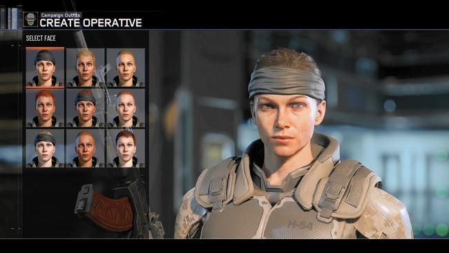 character model screen