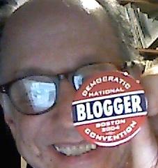 Convention blogger button