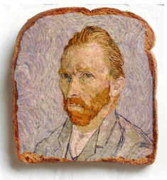 Van Gogh on Toast