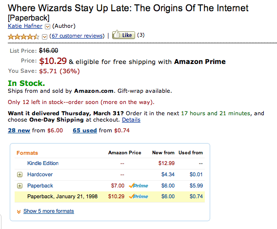 Kindle pricing highest of all versions