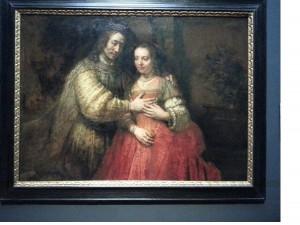 Rembrandt's The Jewish Bride