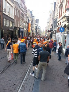 King's Day crowd