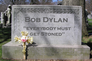 Bob Dylan: 'stoned