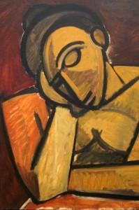 Picasso's Repose