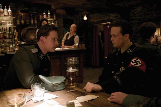 Tavern scene from Basterds