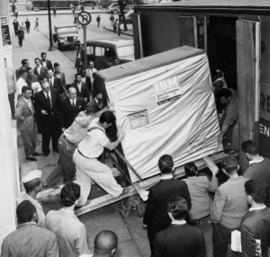 1956 5mb drive loaded onto truck