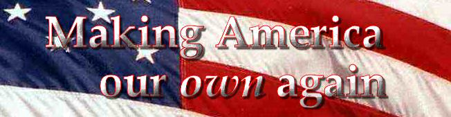Making America Our Own Again title